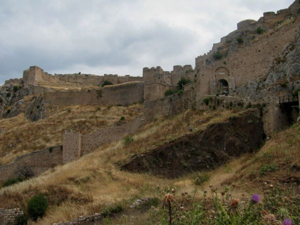 castle acrocorinth