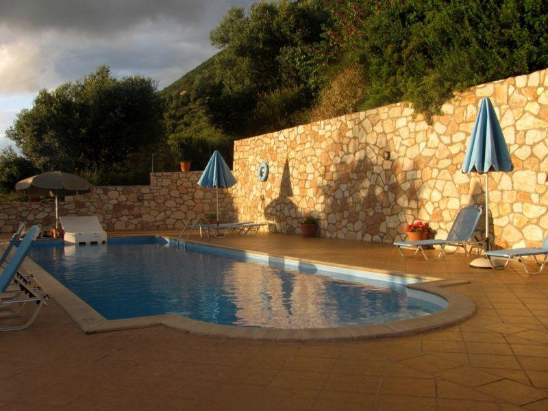 Ithaki hotel pool