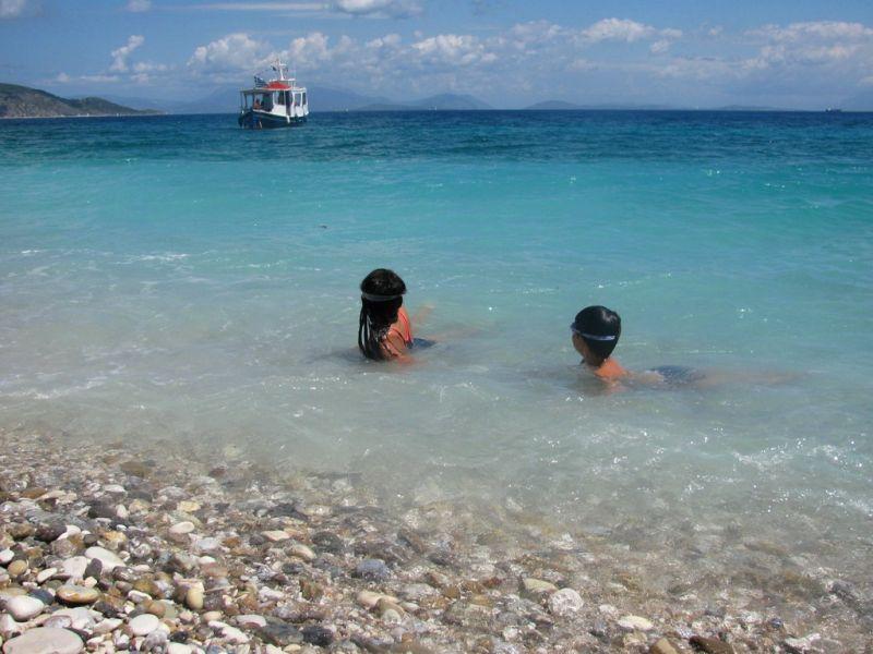 gidaki beach Ithaki Ithaca