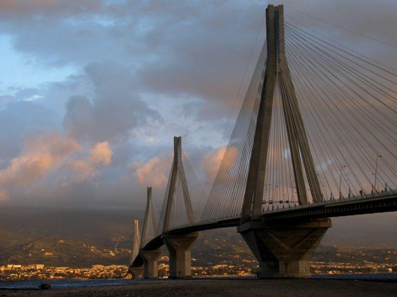 rio bridge greece