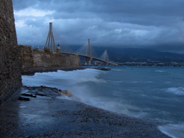 rio bridge greece