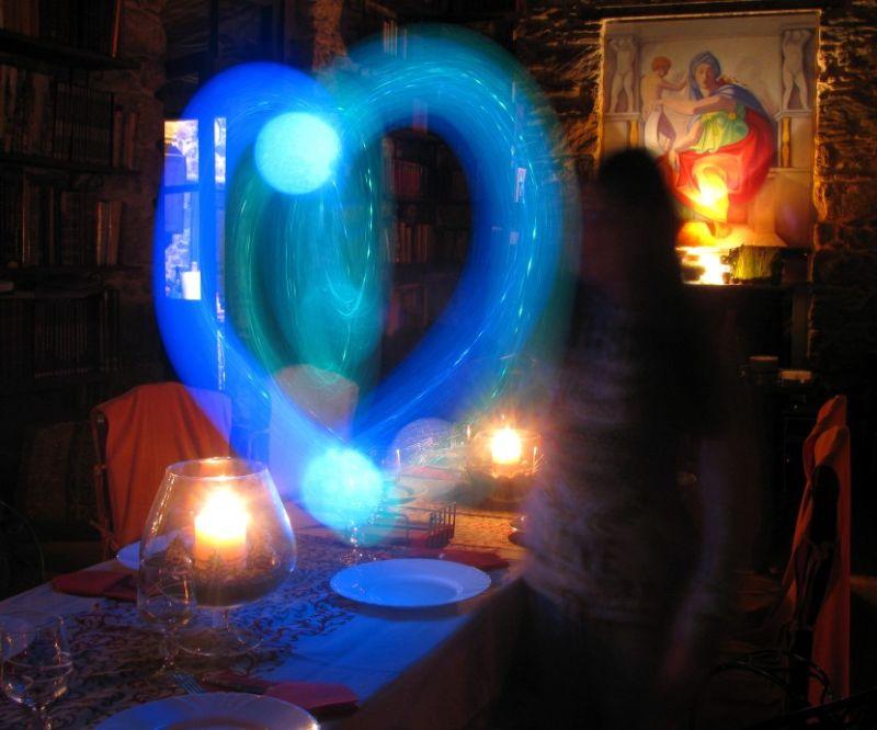 New year eve love heart