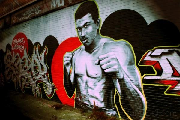 graffiti urban style art jhon doe