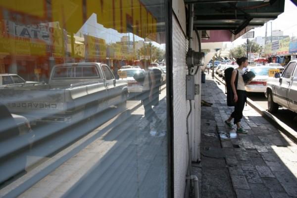 Dan Dredger Sarah Guck Nogales Street Window