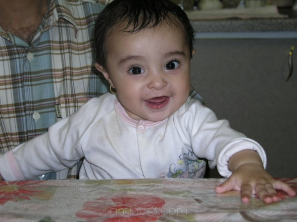 Melika, My niece, A baby