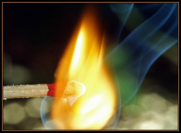 to light a match