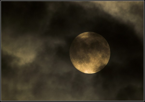 clouded full moon