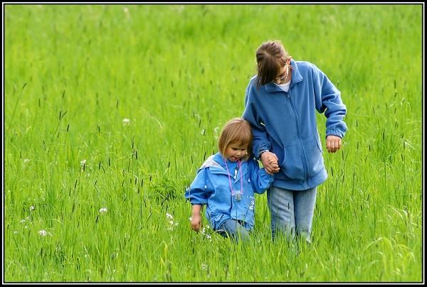 Mai-Spaziergang im Grünen