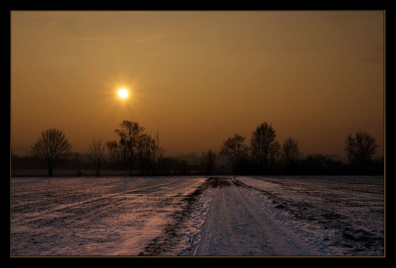 cold sunrise