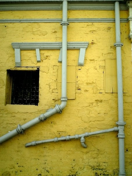 twisted pipes