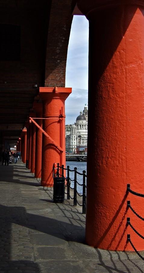 photo of the Albert Dock in Liverpool