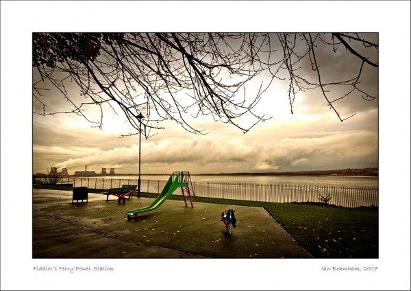 Power Station & Playground, N.W. England
