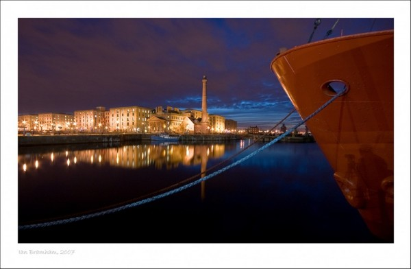 Albert Dock, Liverpool - Self Portrait!