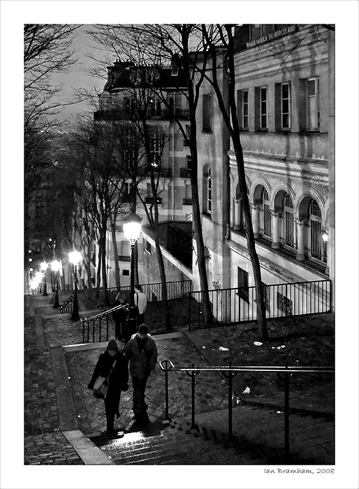 Montmartre just before Dawn