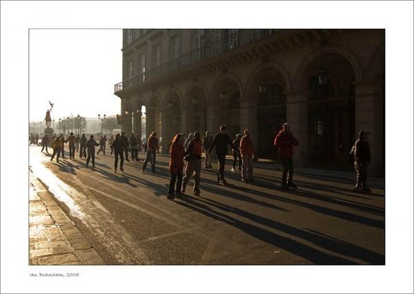 Rollerskating in Paris