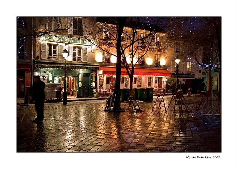 La Place Du Tertre, Montmartre