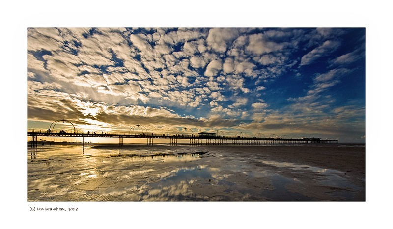 Southport Pier in Winter