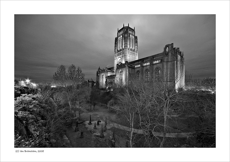 Liverpool Cathedral at Dusk