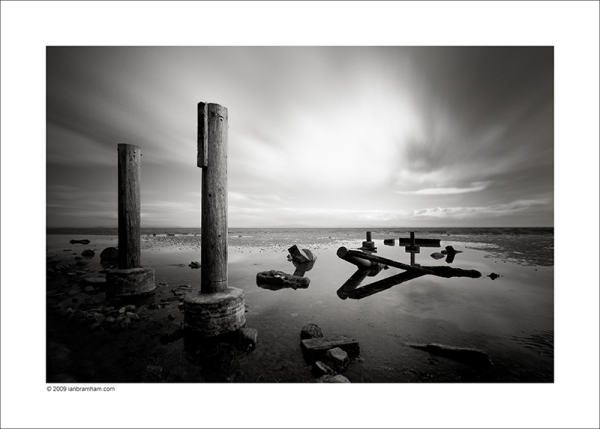 Derelict Slipway, Morecambe Bay