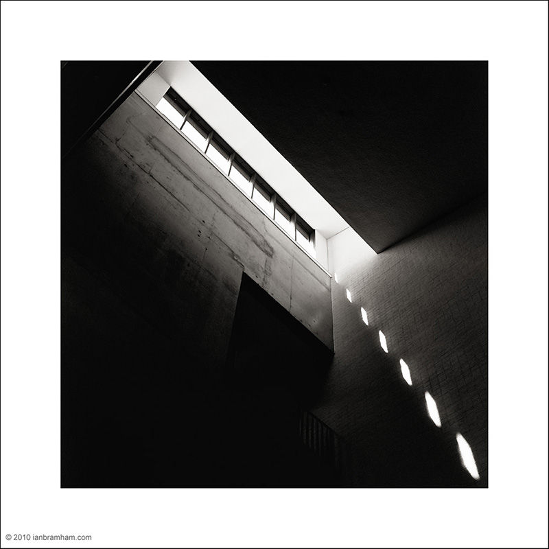 Bluecoat Stairwell medium format film architecture