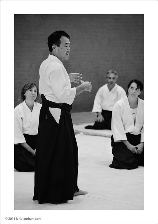 Mimuro Sensei photographed by Ian Bramham