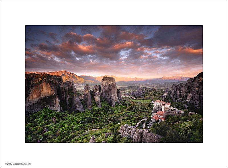 Dawn at Meteora