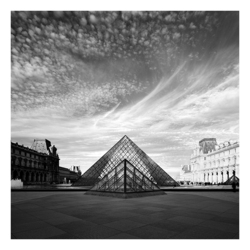 The Louvre Pyramids, Paris