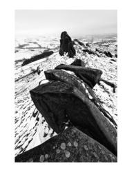 Ramshaw Rocks in the Snow