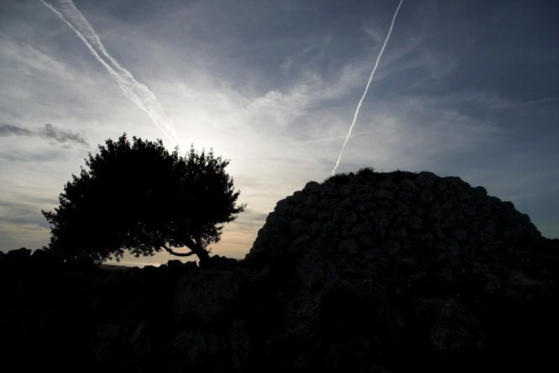 Sunset in Torre de'n Galmés