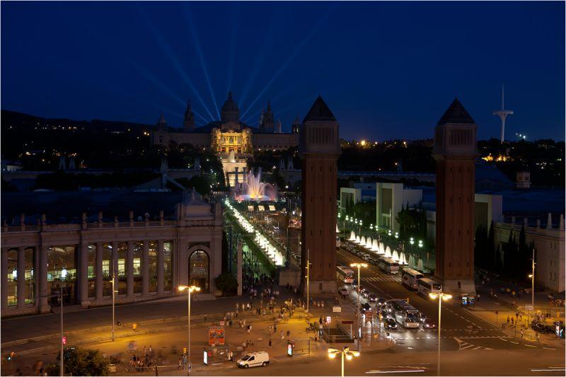 Plaza de España. Barcelona