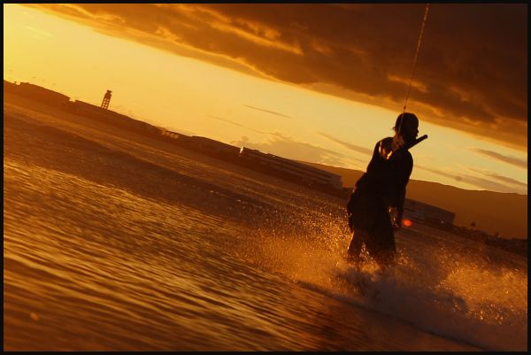 On wakeboard #2