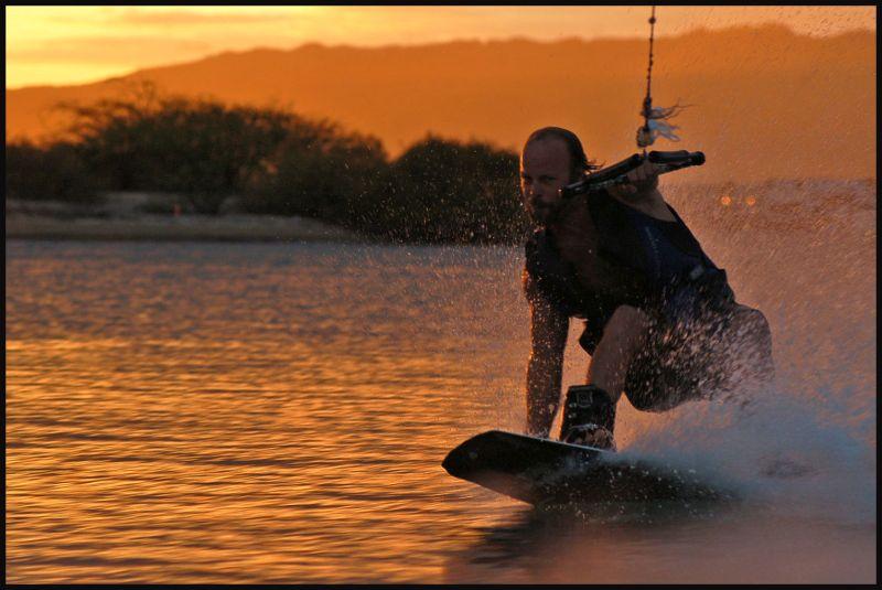 On wake board #3