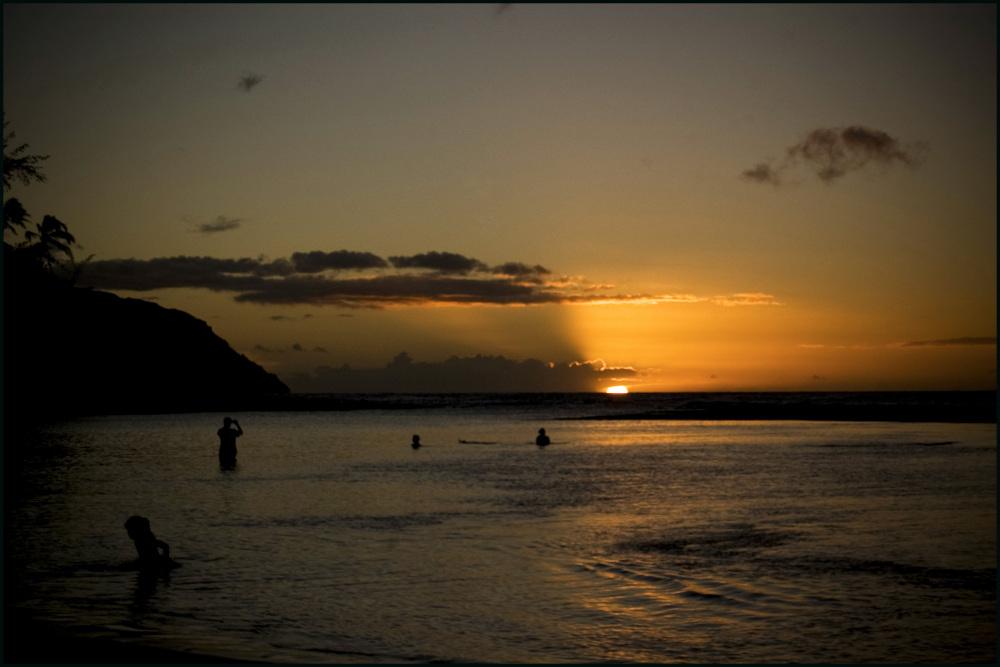 Sunset @ Ke'e beach