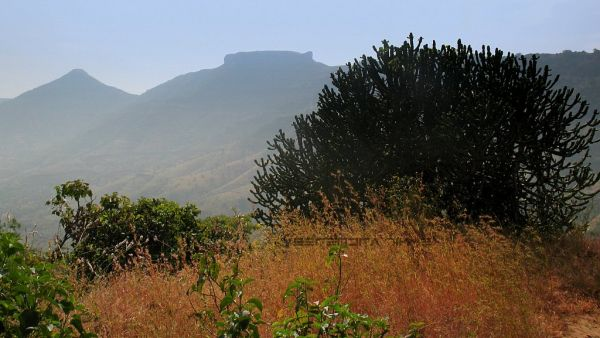 View from Table land of Rayreshwar hill