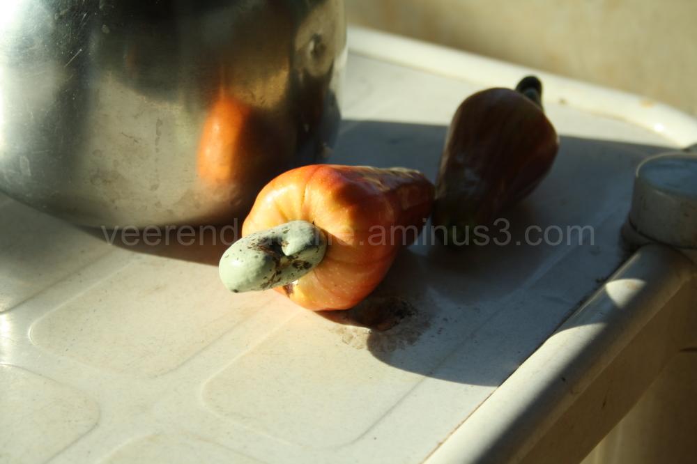 cashue fruit and pot