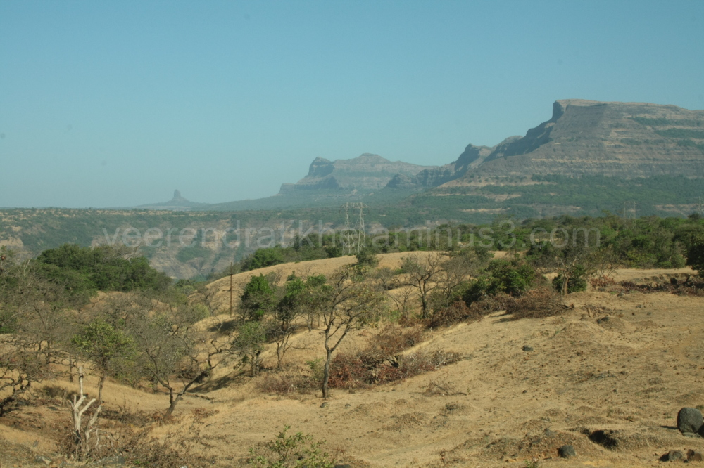 mountain range of Sahyadri