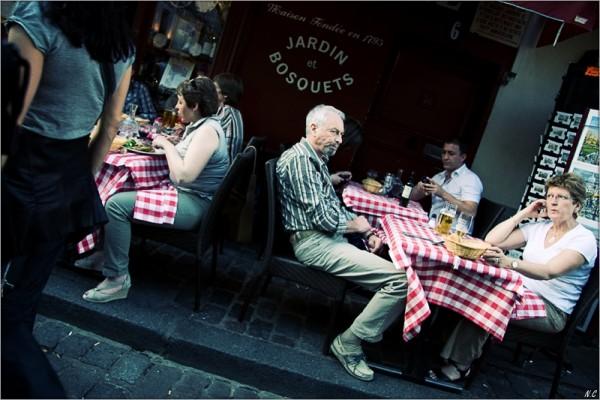 Un après midi à Montmartre.