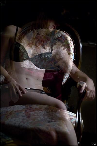 Ghost on Armchair (2)