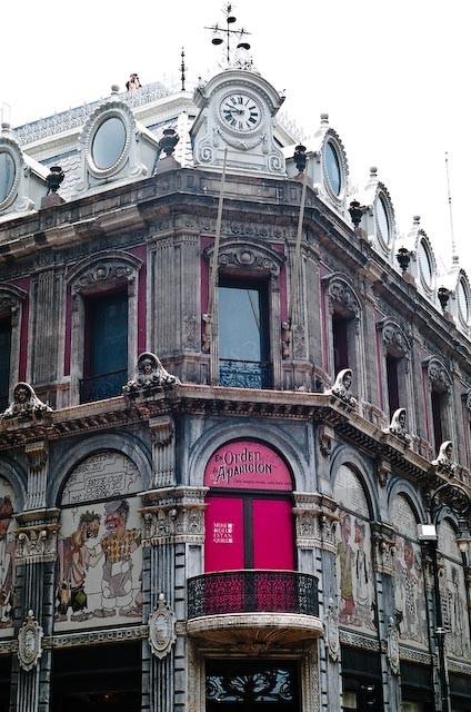 Facade museum of estanquillo