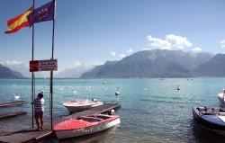 Photoshop nikon lake léman swiss AntoineB d70s