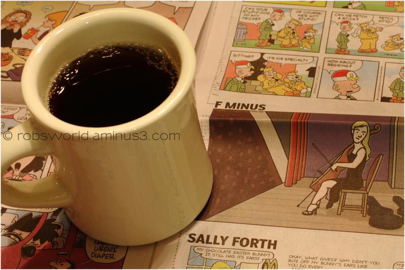 Coffee and Comics