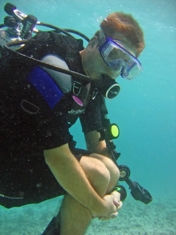 6/29/07 * Dive 1