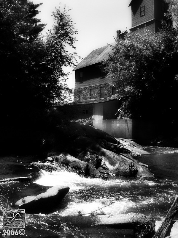 An Old Mill in Vermont