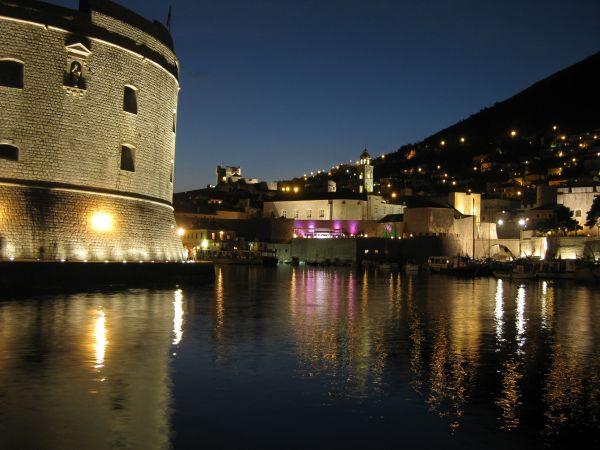 The harbour at Dubrovnik, June 2009