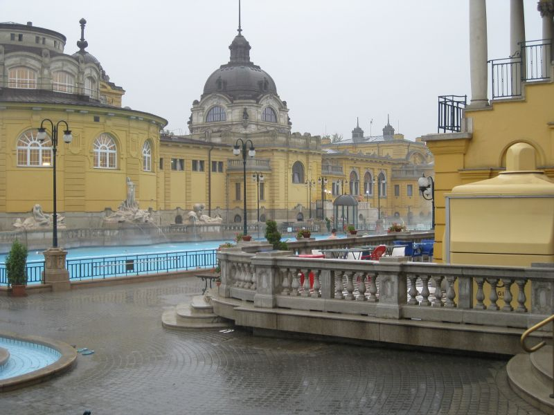 Turkish Baths in Budapest, June 2009