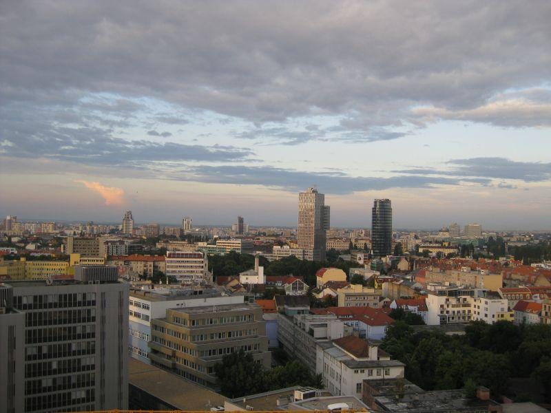 Skyline of Bratislava, June 2009