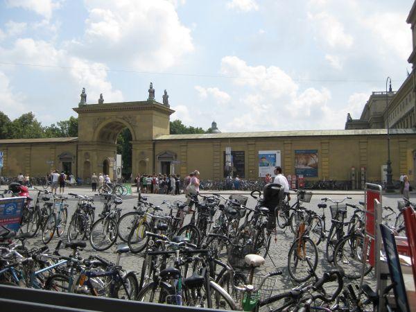 Bicycles, Munich June 2009
