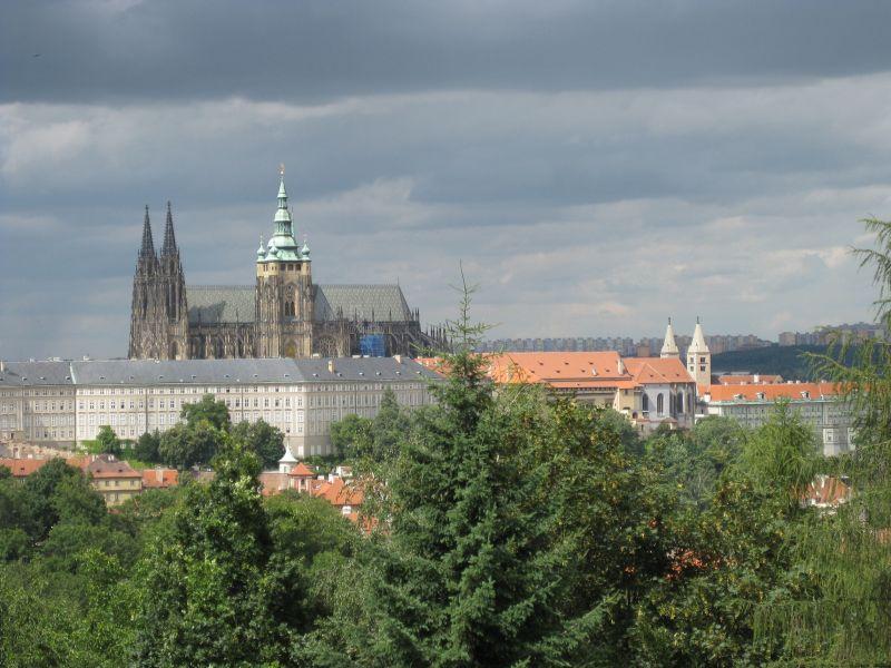 Prague Castle, July 2009