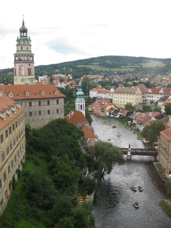 Český Krumlov, July 2009
