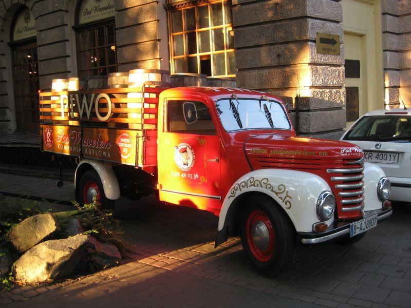 Truck, Krakow July 2009